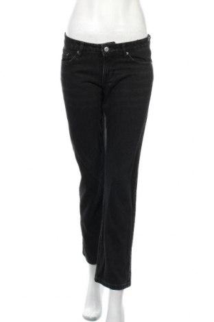 Дамски дънки Weekday, Размер S, Цвят Черен, Памук, Цена 33,54лв.