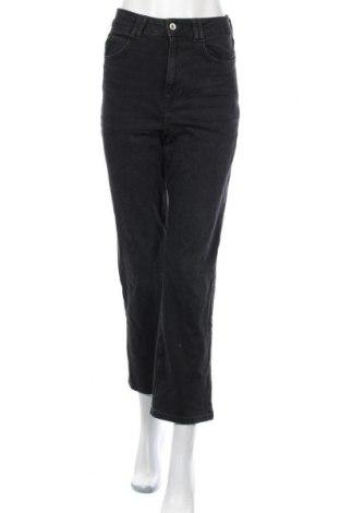 Дамски дънки Zara, Размер S, Цвят Черен, 98% памук, 2% еластан, Цена 48,00лв.