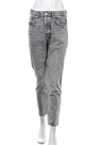 Дамски дънки Zara, Размер M, Цвят Сив, Памук, Цена 48,00лв.