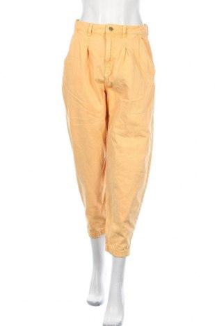 Dámské džíny  Zara, Velikost M, Barva Žlutá, Bavlna, Cena  450,00Kč