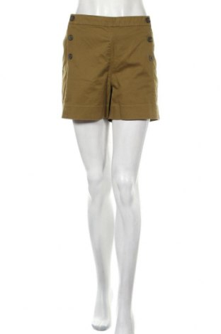 Γυναικείο κοντό παντελόνι Banana Republic, Μέγεθος XL, Χρώμα Πράσινο, 97% βαμβάκι, 3% ελαστάνη, Τιμή 12,34€