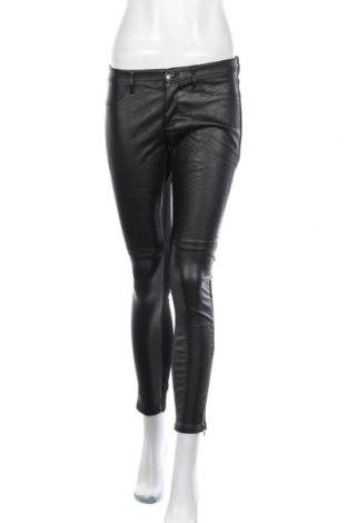 Γυναικείο παντελόνι Banana Republic, Μέγεθος S, Χρώμα Μαύρο, Δερματίνη, βισκόζη, πολυεστέρας, Τιμή 8,50€