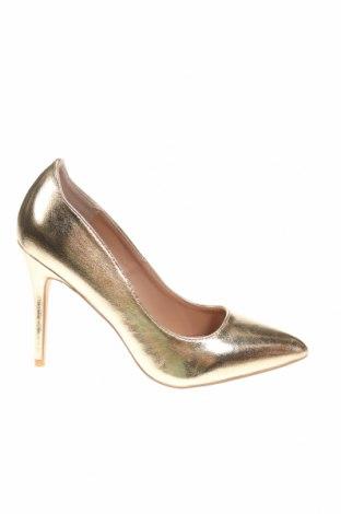 Încălțăminte de damă Anna Field, Mărime 38, Culoare Auriu, Piele ecologică, Preț 73,75 Lei