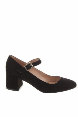 Дамски обувки Anna Field, Размер 38, Цвят Черен, Естествен велур, Цена 46,87лв.