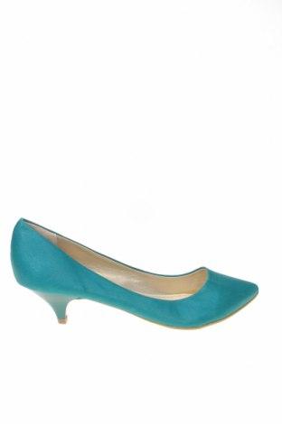 Дамски обувки Bata, Размер 40, Цвят Син, Текстил, Цена 27,60лв.