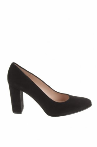 Дамски обувки Brenda Zaro, Размер 39, Цвят Черен, Естествен велур, Цена 41,65лв.