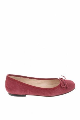 Дамски обувки Brenda Zaro, Размер 37, Цвят Червен, Естествен велур, Цена 38,15лв.