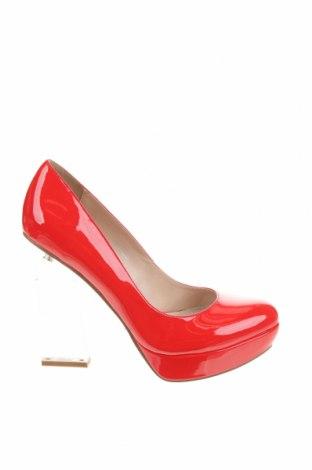 Дамски обувки Buffalo, Размер 39, Цвят Червен, Еко кожа, Цена 46,23лв.