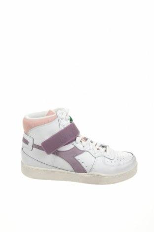 Дамски обувки Diadora, Размер 40, Цвят Бял, Естествена кожа, естествен велур, текстил, Цена 47,70лв.