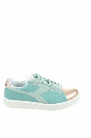 Дамски обувки Diadora, Размер 36, Цвят Многоцветен, Текстил, естествен велур, естествена кожа, Цена 36,57лв.