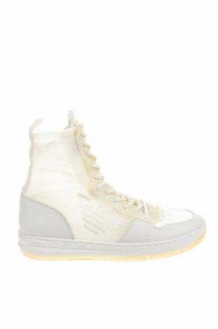 Дамски обувки Emporio Armani, Размер 41, Цвят Бял, Естествена кожа, текстил, Цена 158,67лв.