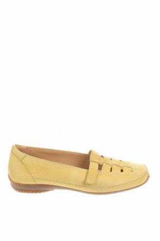 Γυναικεία παπούτσια Gabor, Μέγεθος 40, Χρώμα Κίτρινο, Γνήσιο δέρμα, Τιμή 30,62€