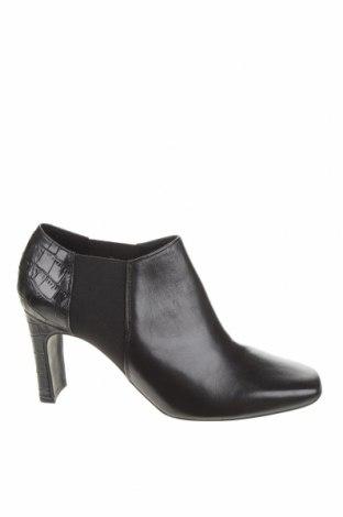Γυναικεία παπούτσια Geox, Μέγεθος 41, Χρώμα Μαύρο, Γνήσιο δέρμα, κλωστοϋφαντουργικά προϊόντα, Τιμή 41,31€