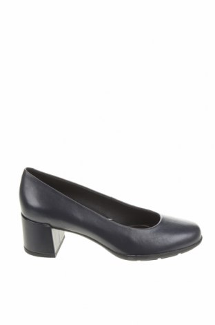 Γυναικεία παπούτσια Geox, Μέγεθος 36, Χρώμα Μπλέ, Γνήσιο δέρμα, Τιμή 44,86€