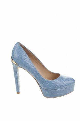 Încălțăminte de damă Guess, Mărime 37, Culoare Albastru, Piele naturală, Preț 383,39 Lei
