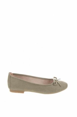 Дамски обувки Jana, Размер 39, Цвят Зелен, Текстил, Цена 26,22лв.