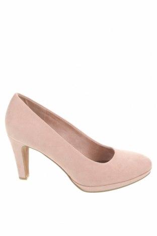 Дамски обувки Marco Tozzi, Размер 40, Цвят Розов, Текстил, Цена 36,34лв.