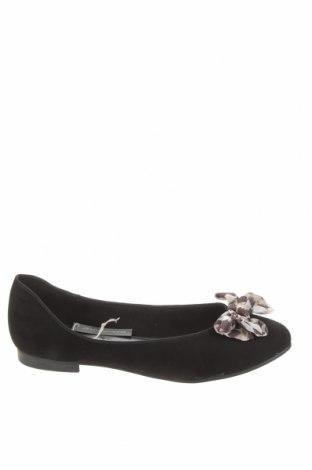 Дамски обувки Marco Tozzi, Размер 40, Цвят Черен, Текстил, Цена 27,56лв.