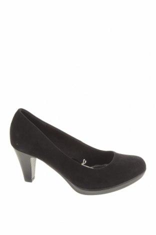 Дамски обувки Marco Tozzi, Размер 37, Цвят Черен, Текстил, Цена 30,02лв.