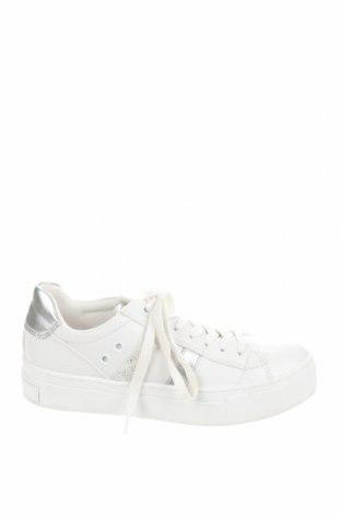 Дамски обувки Marco Tozzi, Размер 37, Цвят Бял, Еко кожа, Цена 34,72лв.