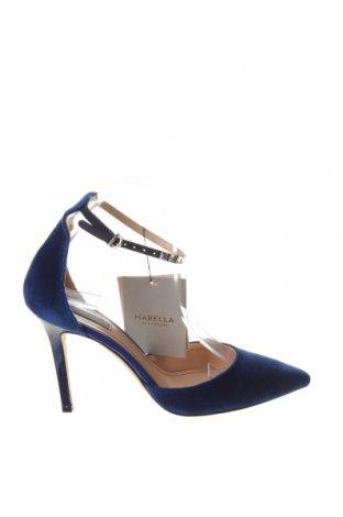 Дамски обувки Marella, Размер 39, Цвят Син, Текстил, Цена 109,80лв.