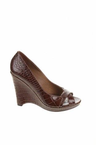 Dámské boty  Massimo Dutti, Velikost 38, Barva Hnědá, Pravá kůže, Cena  777,00Kč