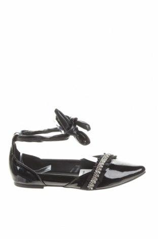 Γυναικεία παπούτσια Morgan, Μέγεθος 37, Χρώμα Μαύρο, Δερματίνη, Τιμή 7,33€
