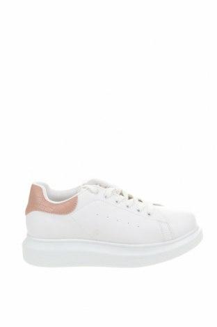 Дамски обувки NLY, Размер 39, Цвят Бял, Еко кожа, Цена 41,30лв.