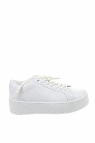 Дамски обувки NLY, Размер 36, Цвят Бял, Еко кожа, Цена 40,71лв.