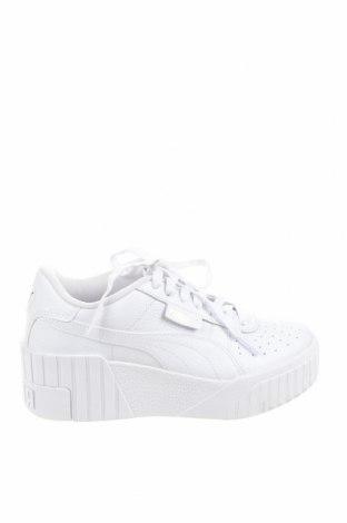 Дамски обувки PUMA, Размер 36, Цвят Бял, Естествена кожа, еко кожа, Цена 72,67лв.