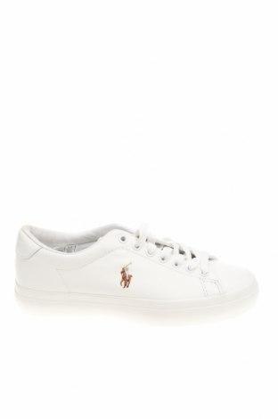 Дамски обувки Polo By Ralph Lauren, Размер 36, Цвят Бял, Естествена кожа, Цена 141,75лв.