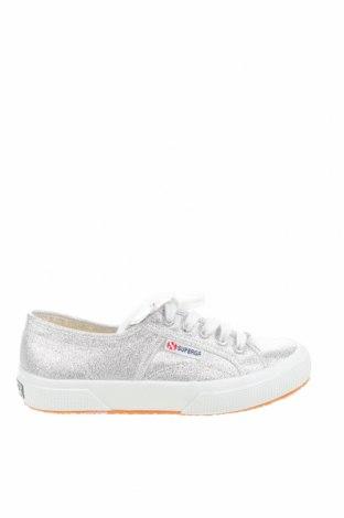Дамски обувки Superga, Размер 35, Цвят Сив, Текстил, Цена 37,13лв.
