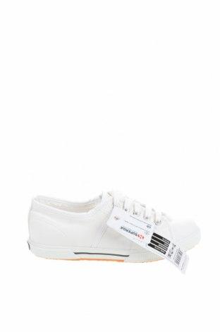Дамски обувки Superga, Размер 36, Цвят Бял, Текстил, Цена 38,15лв.