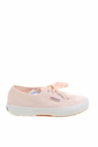 Дамски обувки Superga, Размер 38, Цвят Розов, Текстил, Цена 54,88лв.