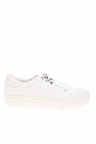 Дамски обувки Tamaris, Размер 37, Цвят Бял, Текстил, Цена 42,78лв.