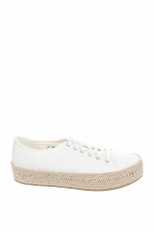 Γυναικεία παπούτσια Tamaris, Μέγεθος 39, Χρώμα Λευκό, Κλωστοϋφαντουργικά προϊόντα, Τιμή 17,09€