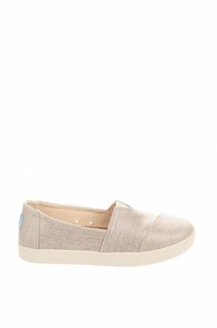 Дамски обувки Toms, Размер 36, Цвят Златист, Текстил, Цена 31,05лв.