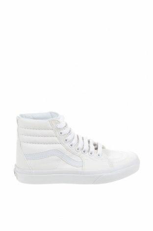 Дамски обувки Vans, Размер 34, Цвят Бял, Текстил, Цена 36,89лв.