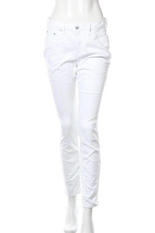 Дамски панталон Aniston, Размер M, Цвят Бял, 98% памук, 2% еластан, Цена 32,86лв.