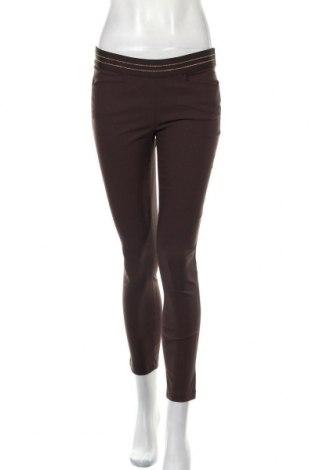 Дамски панталон Chervo, Размер S, Цвят Кафяв, 94% полиамид, 6% еластан, Цена 47,25лв.
