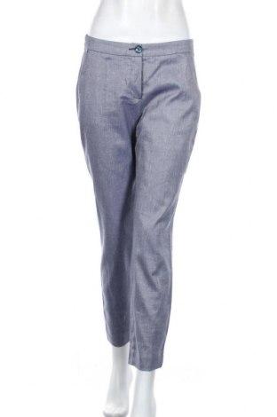 Pantaloni de femei Comma,, Mărime S, Culoare Albastru, 53% bumbac, 26% in, 19% viscoză, 2% elastan, Preț 122,53 Lei