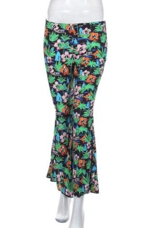 Дамски панталон Love Moschino, Размер S, Цвят Многоцветен, Вискоза, Цена 17,95лв.