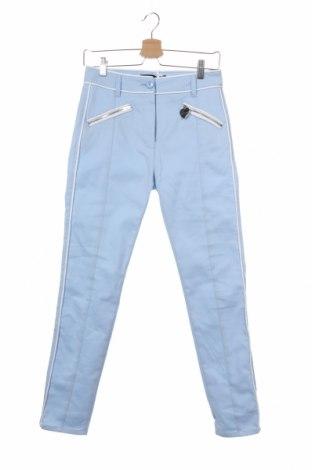 Дамски панталон Love Moschino, Размер S, Цвят Син, 98% памук, 2% еластан, Цена 100,52лв.