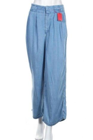 Dámské kalhoty  S.Oliver, Velikost L, Barva Modrá, Lyocell, Cena  1076,00Kč
