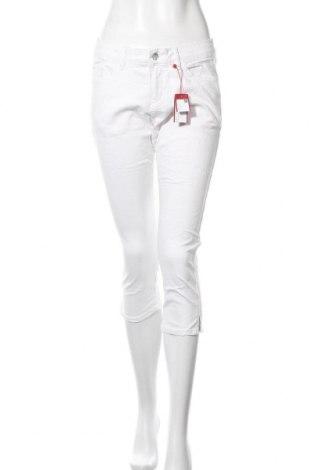 Dámské kalhoty  S.Oliver, Velikost M, Barva Bílá, 97% bavlna, 3% elastan, Cena  458,00Kč