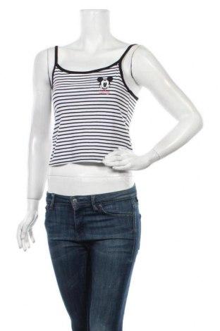 Γυναικείο αμάνικο μπλουζάκι Lefties, Μέγεθος M, Χρώμα Λευκό, Βαμβάκι, Τιμή 3,03€