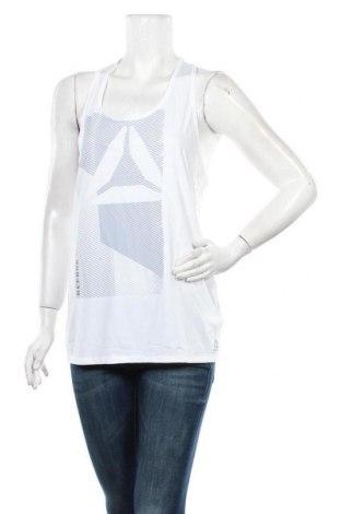 Tricou de damă Reebok, Mărime M, Culoare Alb, 86% poliester, 14% elastan, Preț 64,15 Lei