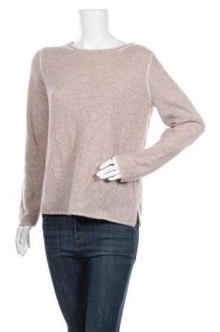 Дамски пуловер Christian Berg, Размер M, Цвят Бежов, Кашмир, Цена 93,87лв.