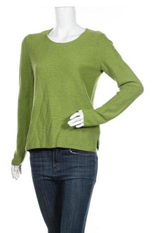 Дамски пуловер Christian Berg, Размер M, Цвят Зелен, Памук, Цена 49,40лв.