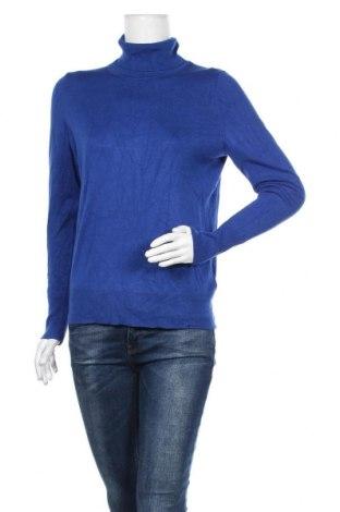 Дамски пуловер Christian Berg, Размер M, Цвят Син, 75% вискоза, 25% полиамид, Цена 49,40лв.